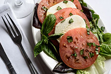 Fresh Mozzarella, Tomato and Basil Salad